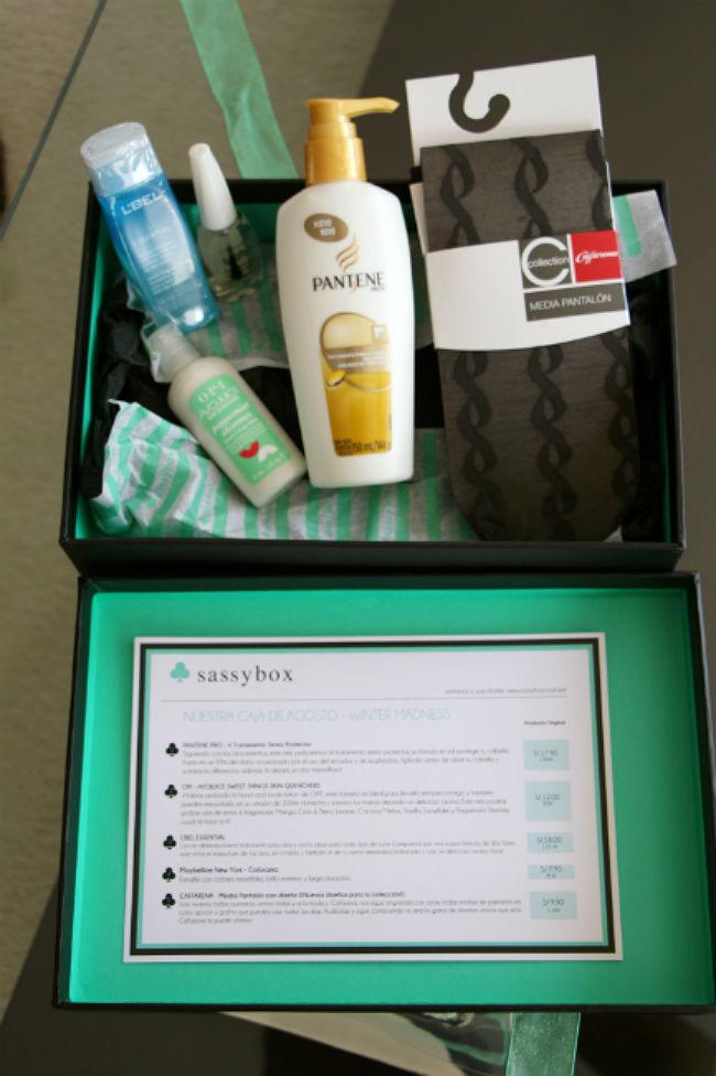 Sassy Box, belleza que sorprende