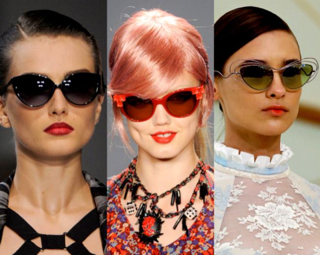 Atrévete a usar los nuevos y originales modelos de lentes de sol en este  verano 2014 7d631f501b83