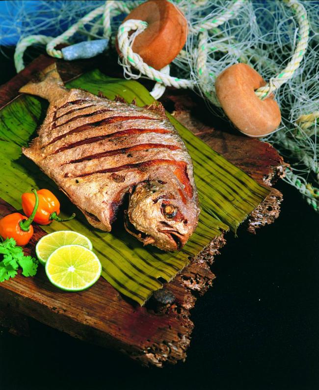 pescado frito durante el embarazo