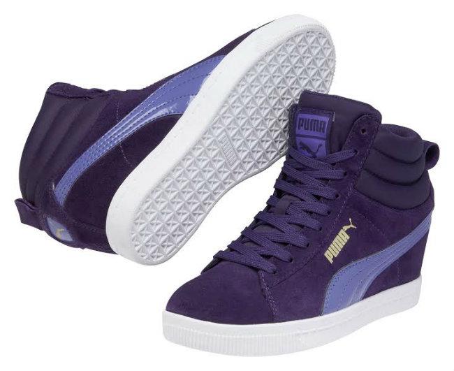 b6eadd70d1910 PUMA Sky Wedge es una zapatilla que incorpora taco para hacer a las mujeres  más bonitas y atléticas